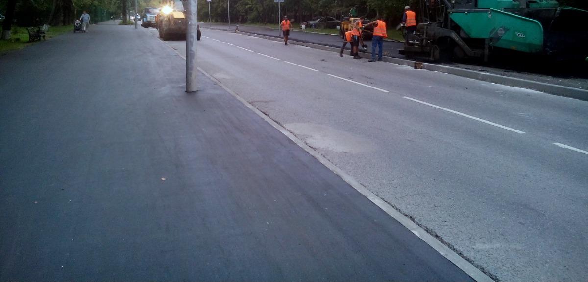 Асфальтирование тротуаров Укладка асфальта, асфальтирование, дорожные работы, строительство дорог