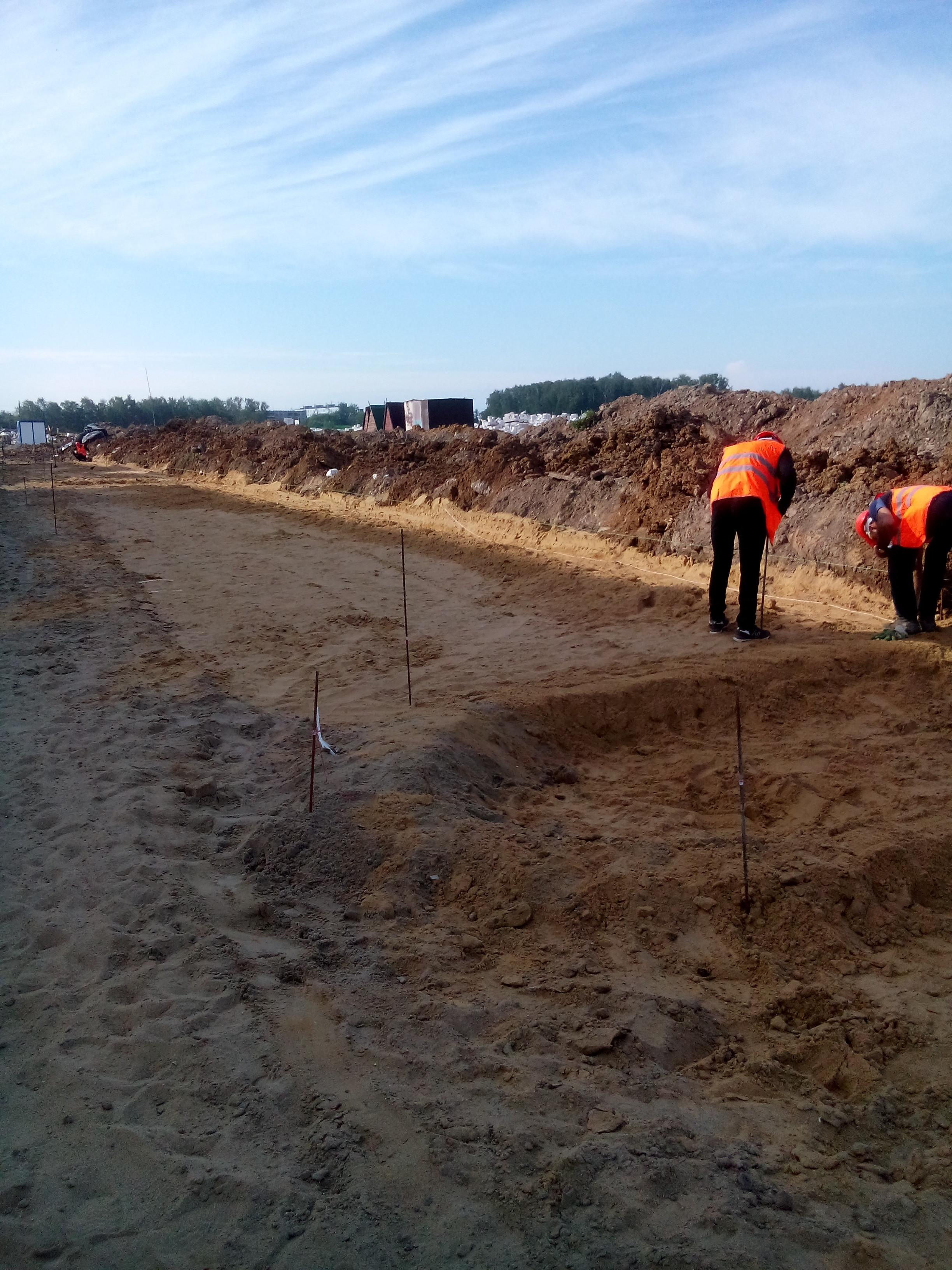 Проектирование земляных работ