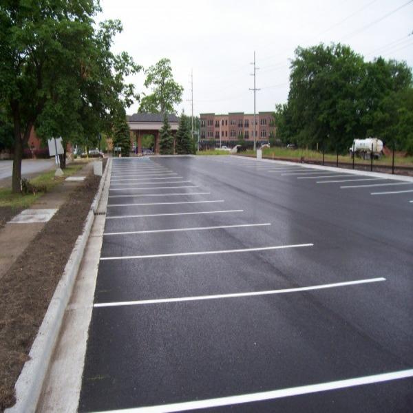 Асфальтирование парковочных зон