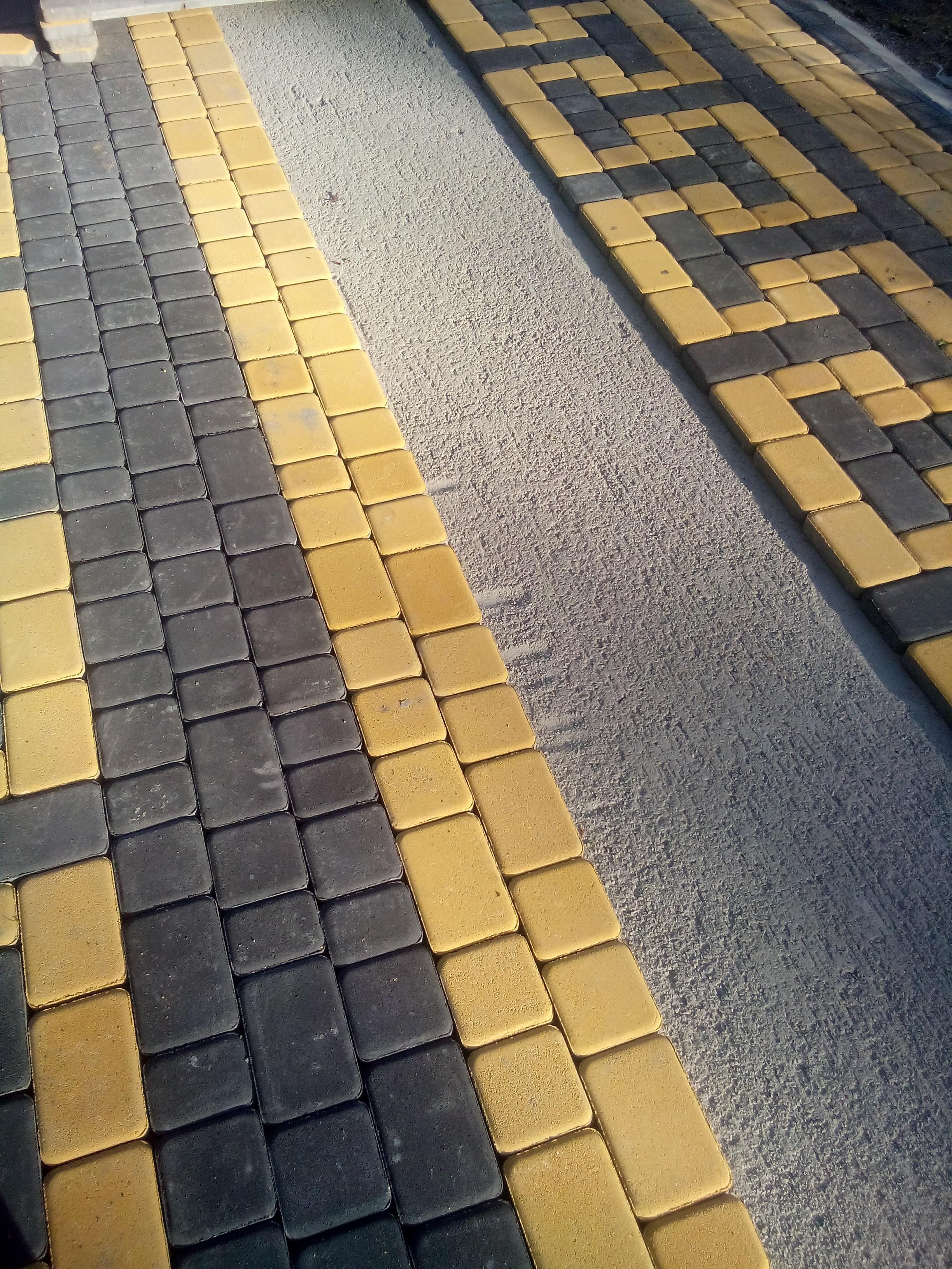 тротуарная плитка цена м2 Киев